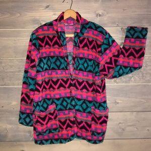 80's fleece jacket